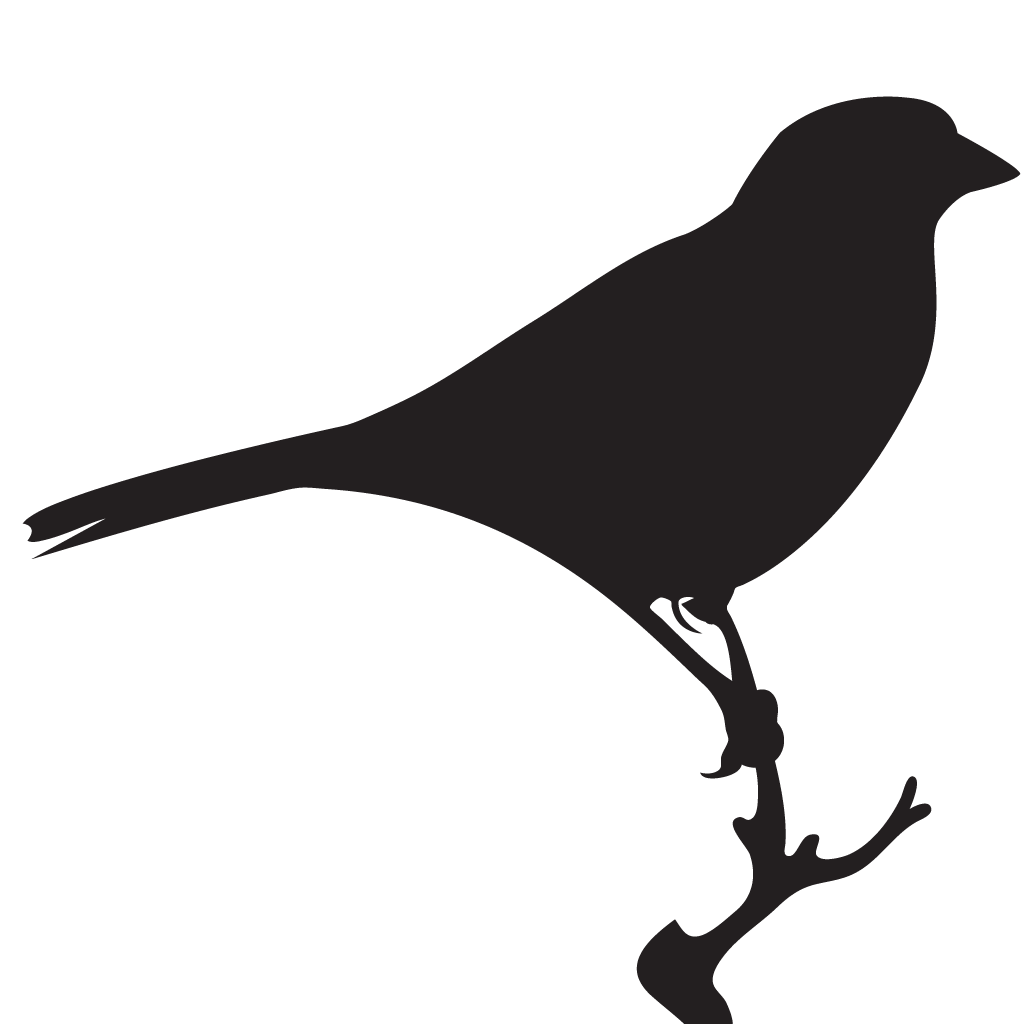 Silhouette Sparrows
