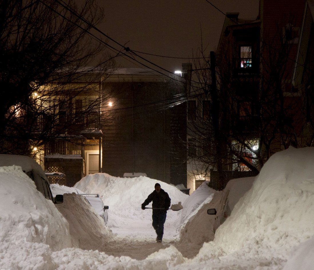 Boston recorded 110 inches of snow in winter 2015. Photo by Dora Nyiro Photography.